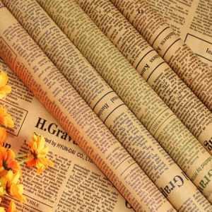 тонкая газетная бумага
