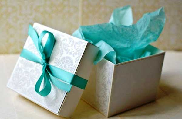 Упаковка папиросной бумагой