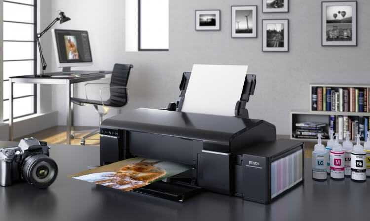 принтер Epson L805 является одним из лучших в своем классе для домашнего и полупрофессионального использования