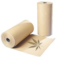бумага из конопли может поставляться в рулонах