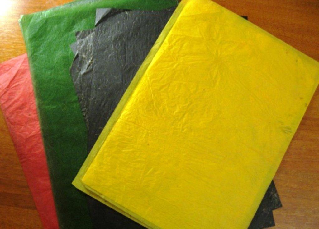 разноцветная копирка нужна для дизайнерских работ