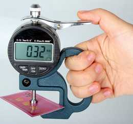толщиномер для вычисления плотности бумаги