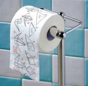 туалетная бумага для творческих личностей