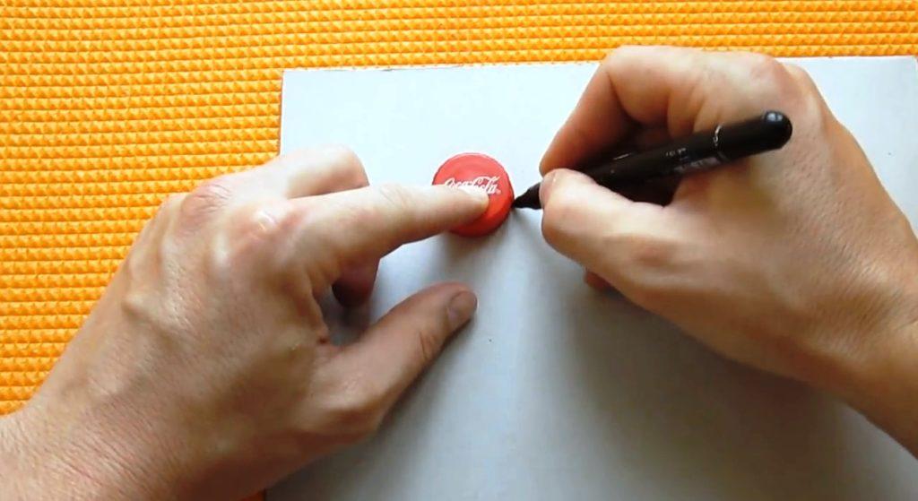 с чего начать изготовления спиннера из бумаги без подшипника на коленке