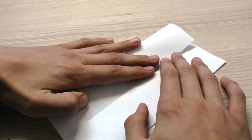 как сложить лист бумаги для спиннера