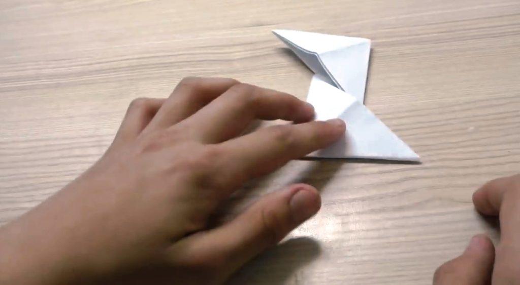 спиннер из бумаги - начало инструкции