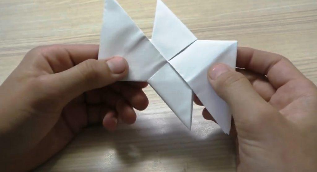 инструкция как собрать спиннер из бумаги