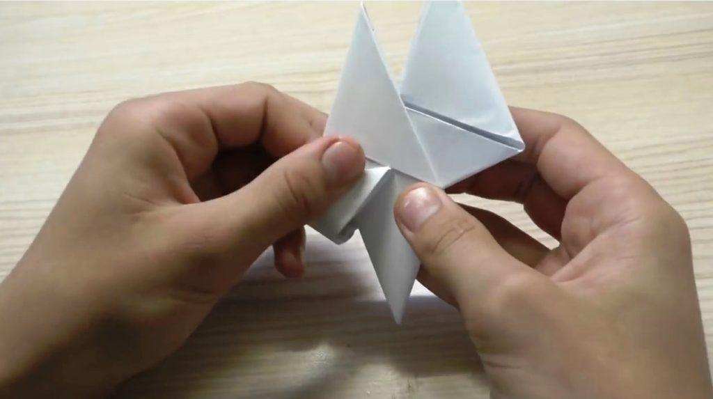 занимаемся оригами-спиннером