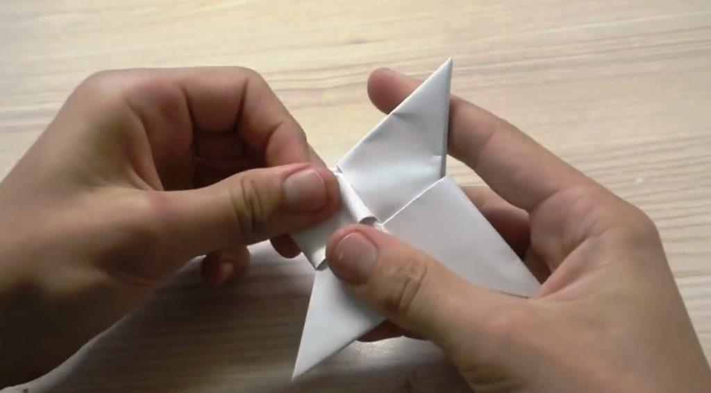 как сделать спиннер из бумаги дома