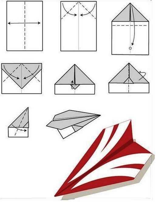 Как сделать простой самолет из бумаги на 100 метров полета