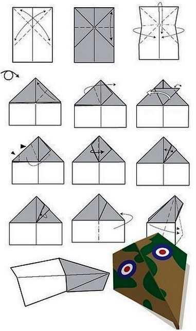 Как сделать самолет из бумаги с большими крыльями на 100 метров полета
