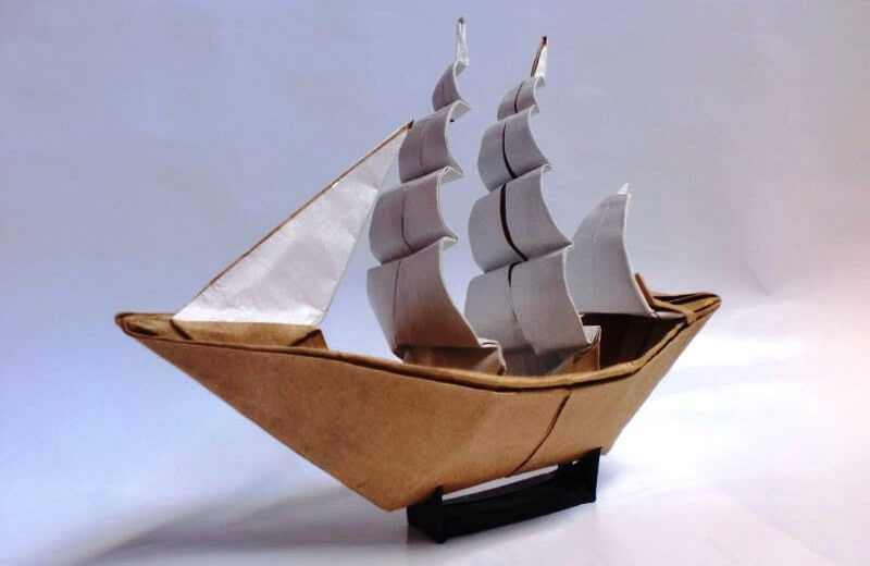 Кораблик из бумаги — 3 лучших способа сборки