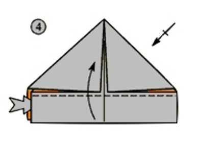 оригами для кораблика из бумаги своими руками