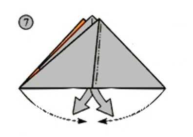 треугольник из бумаги для поделки своими руками