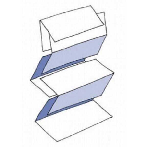 бумажные полотенца v сложения поставляются в упаковках