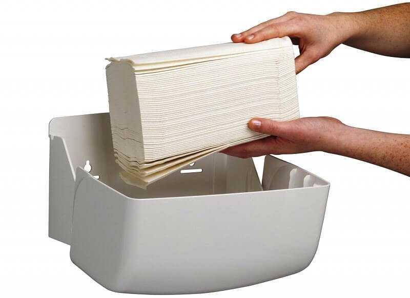 бумажные полотенца выпускаются в листах и в рулонах