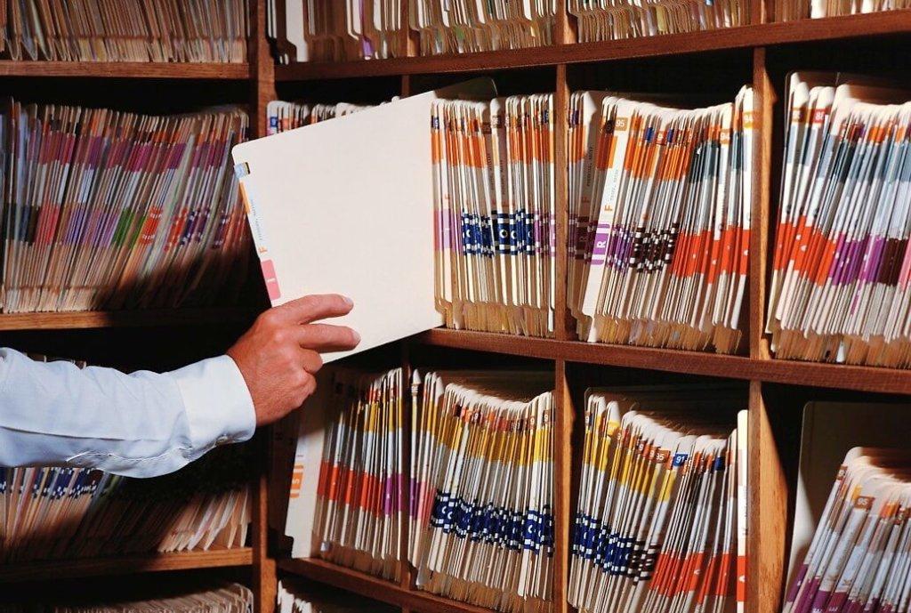 хранение подшитых документов производится в архиве предприятия