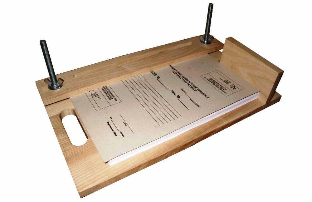 устройство для ровной и качественной подшивки документации