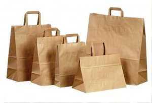 бумажные пакеты очень выгодны для производства и бизнеса