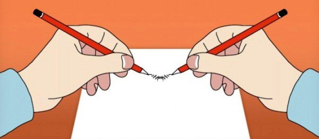как развиваться с помощью письма двумя руками