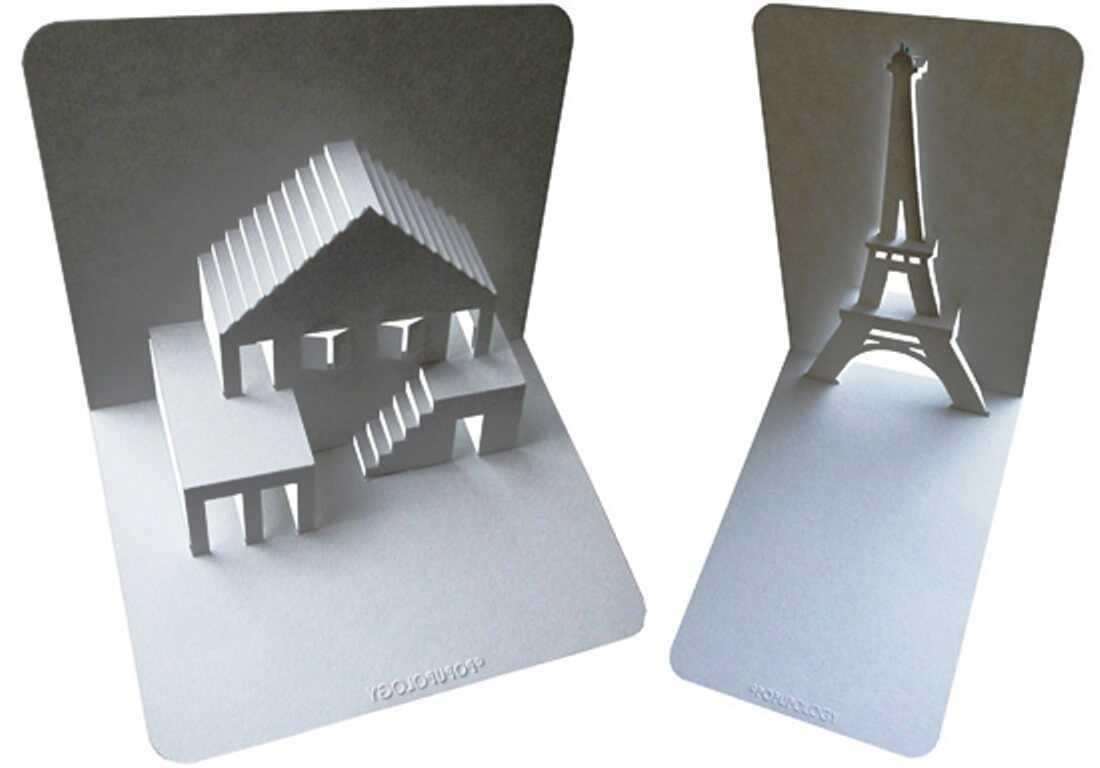 Как сделать объемную открытку из бумаги