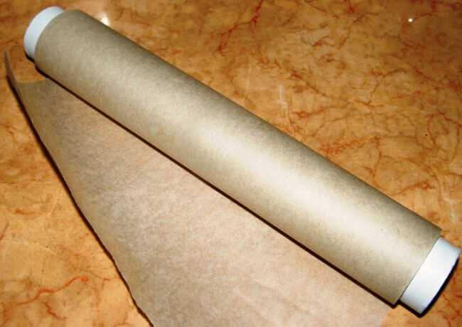 рулон пергаментной бумаги