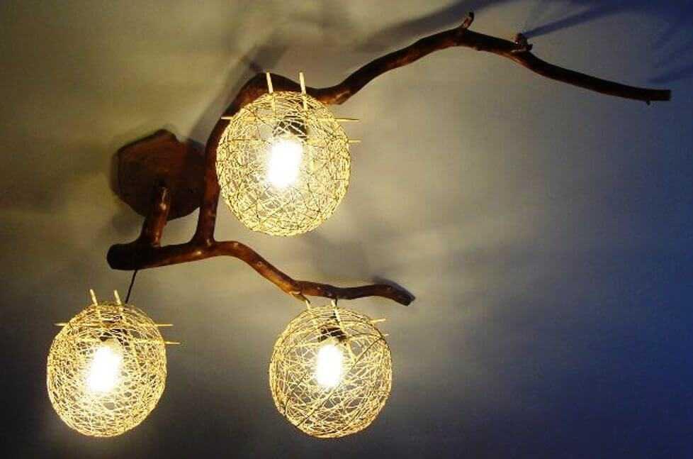 уникальные светильники ручной работы