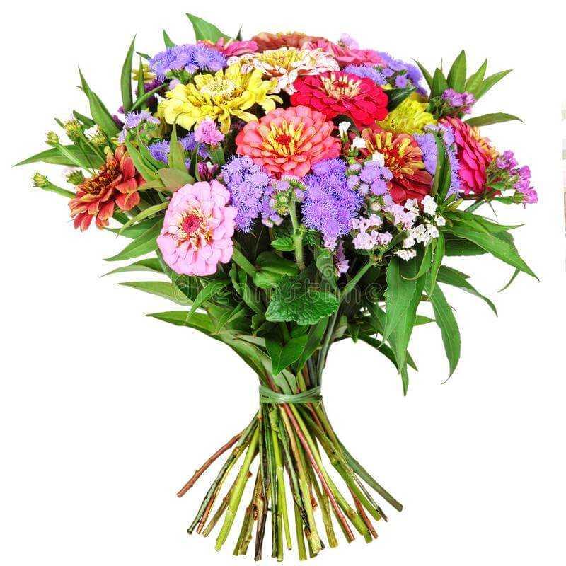красивейший букет из полевых цветов