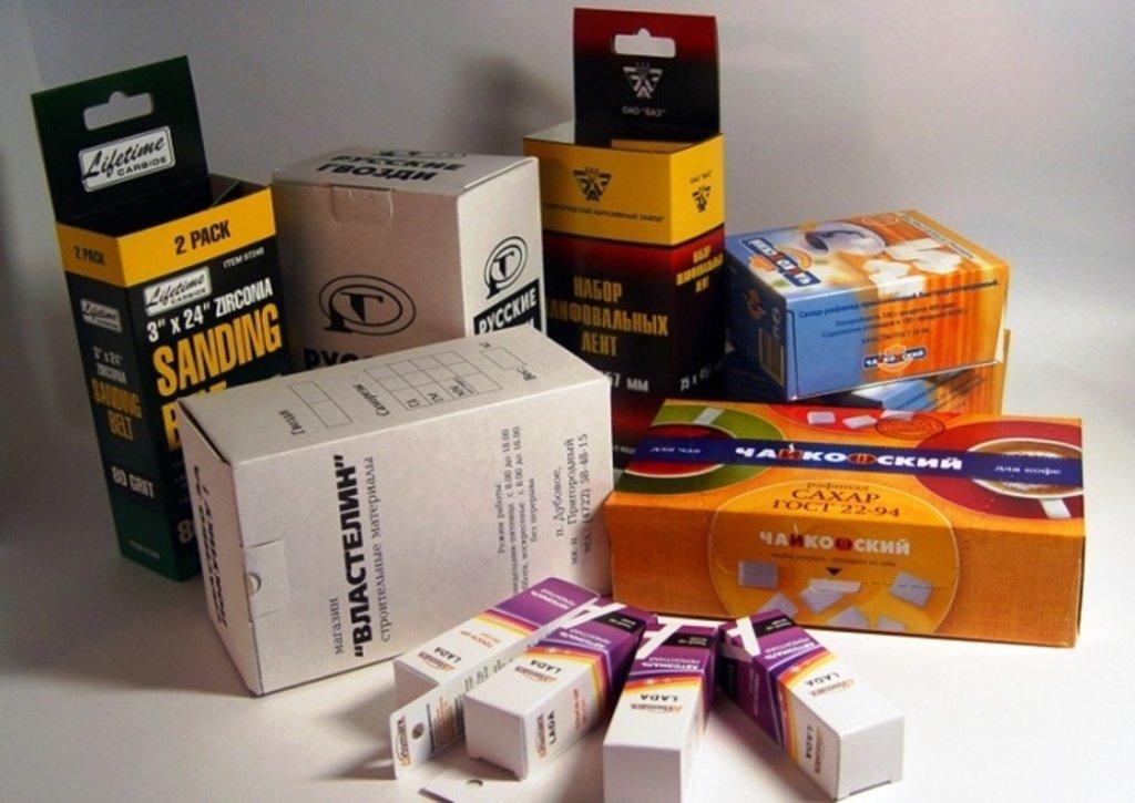 можно заказать картонные коробки с логотипом