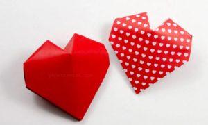 Как сделать 3D сердечко своими руками — пошаговая инструкция